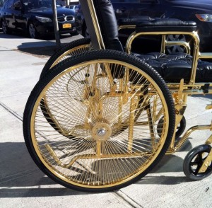 golden wheelchair