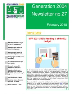 thumbnail of G2004 Newsletter no 27 2018 final