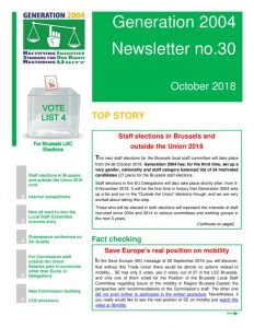 thumbnail of G2004 Newsletter no 30 2018